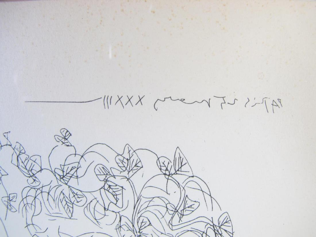 """Picasso Lithograph, from """"Suite Vollard"""" - 6"""