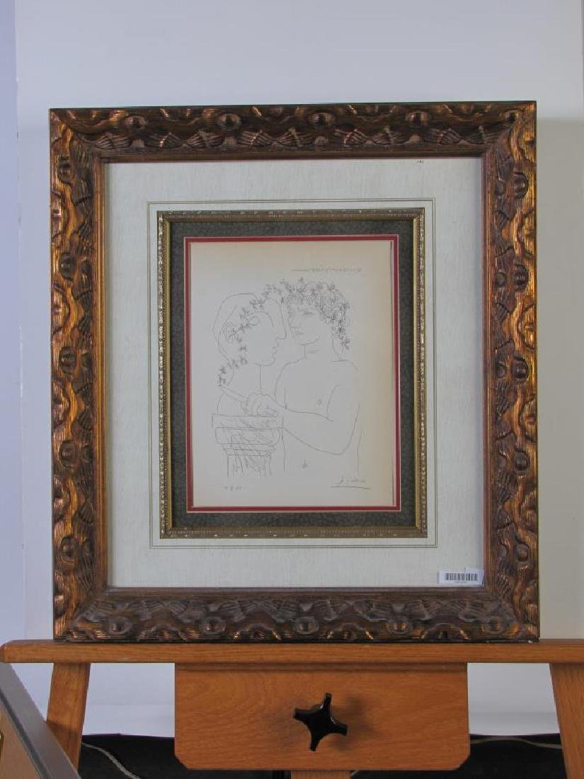 """Picasso Lithograph, from """"Suite Vollard"""" - 8"""
