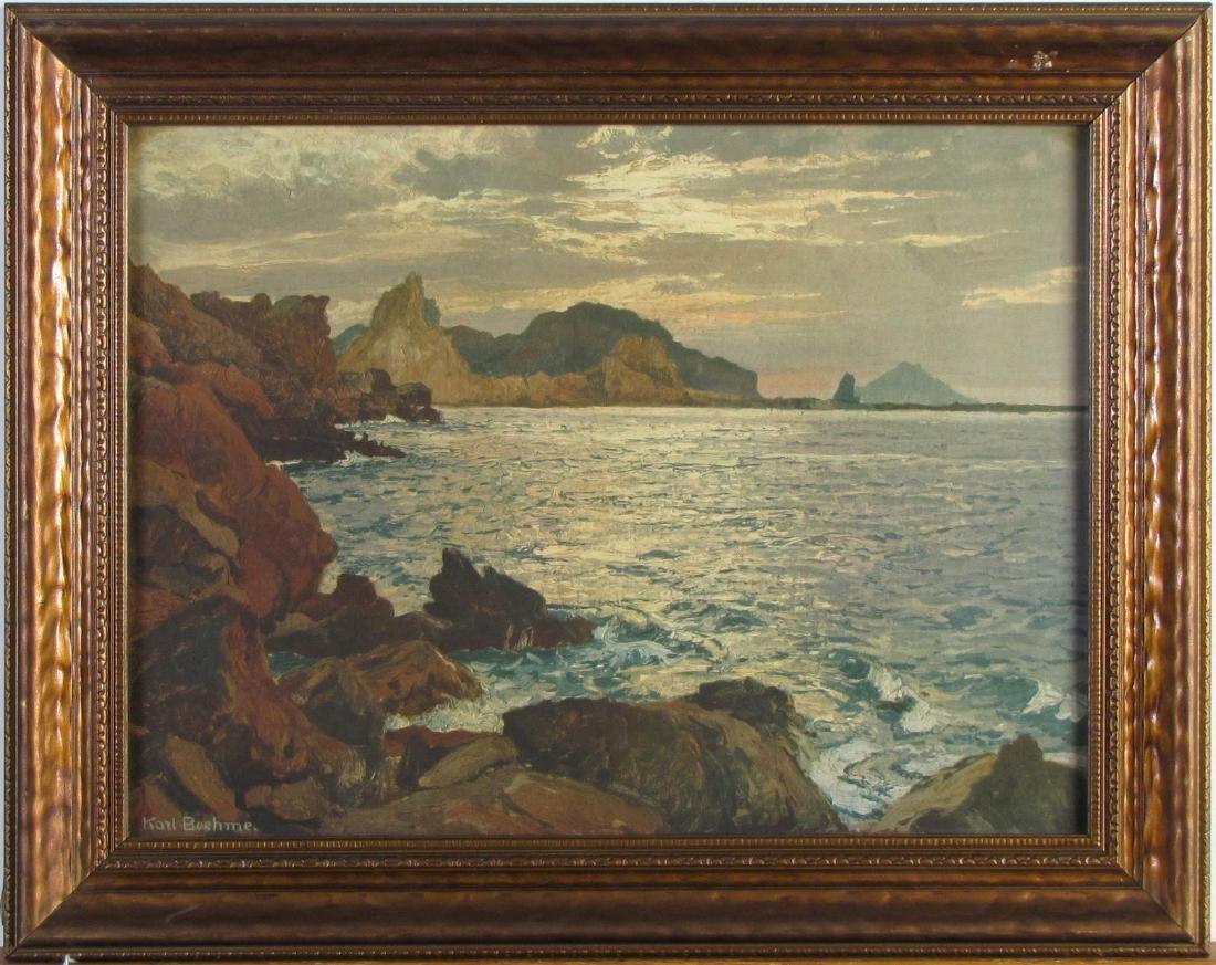Karl Theodor Boehme (1866-1939) Chromolith