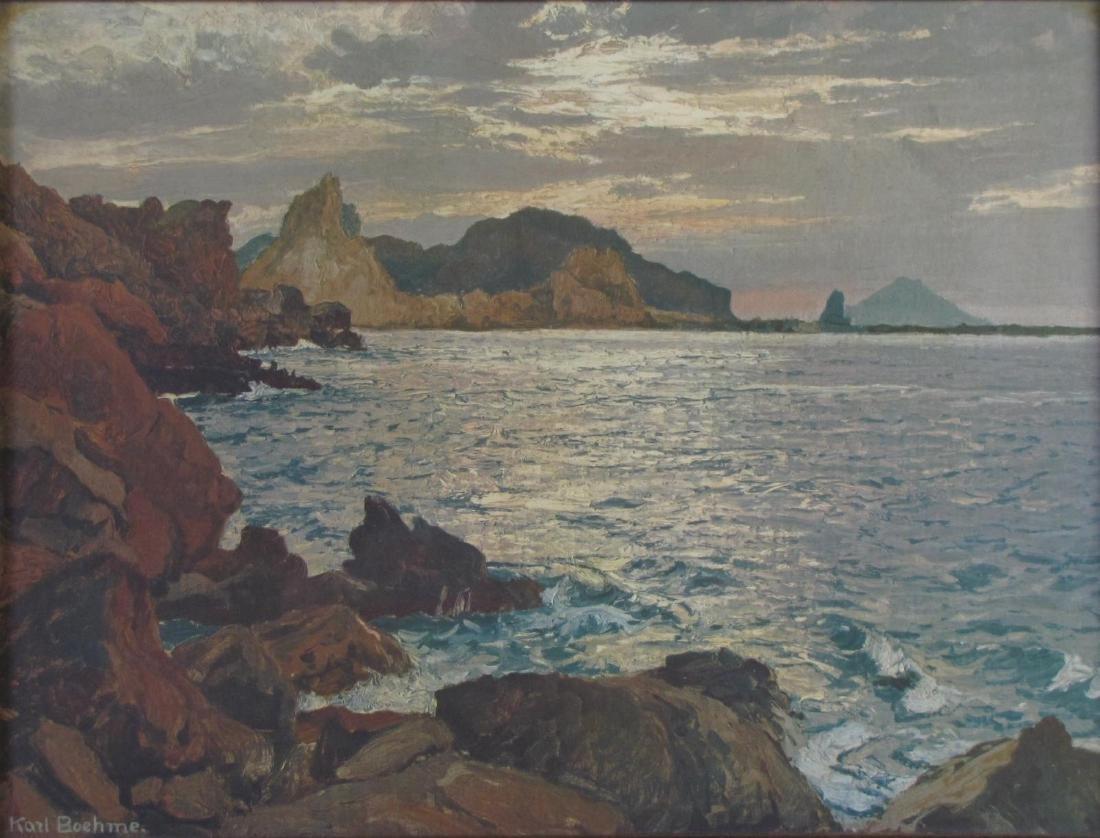 Karl Theodor Boehme (1866-1939) Chromolith - 2