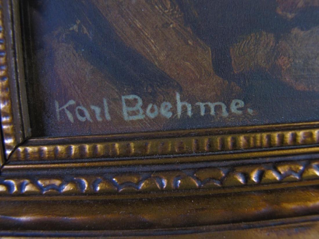 Karl Theodor Boehme (1866-1939) Chromolith - 3