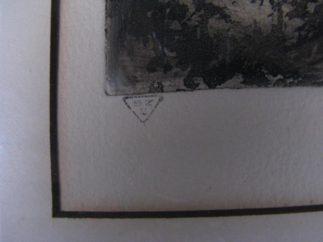 Two Etchings by E Laborde (France) - 4