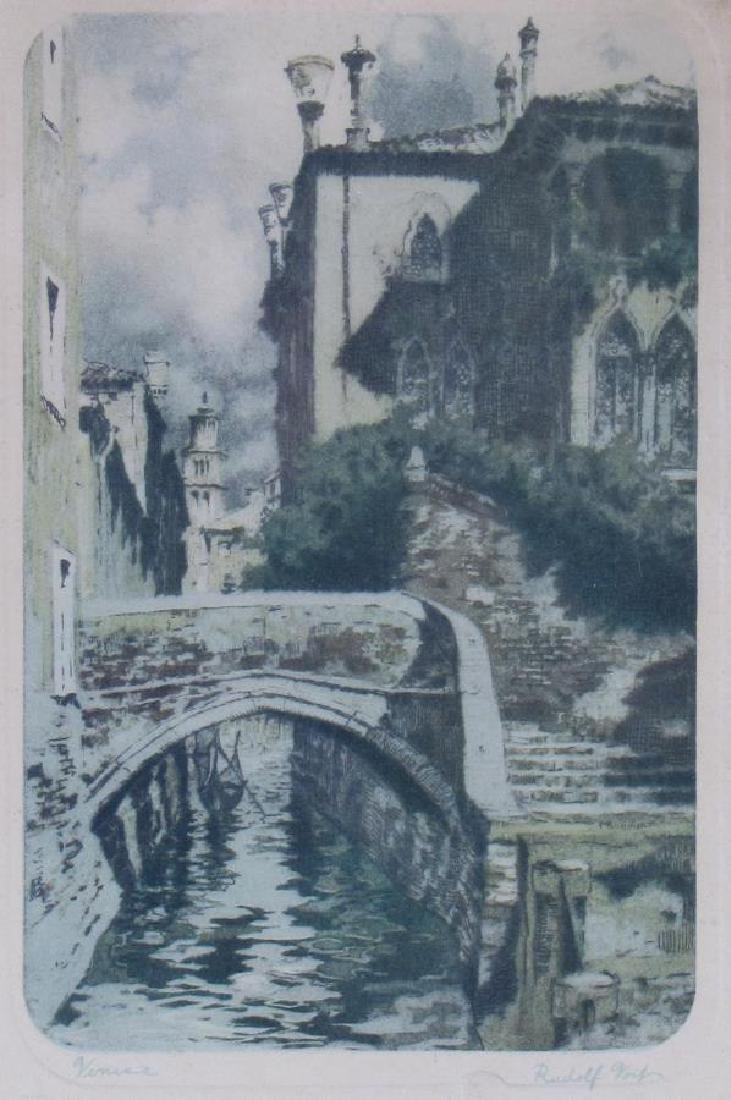 Two Antique German Etchings, Geissler and Veit - 2