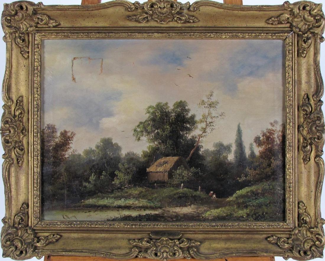 R Percy 15x20 O/C Landscape