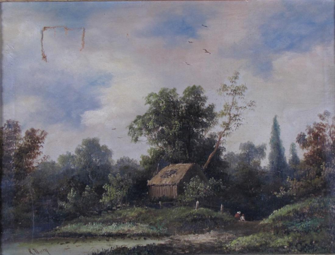 R Percy 15x20 O/C Landscape - 2