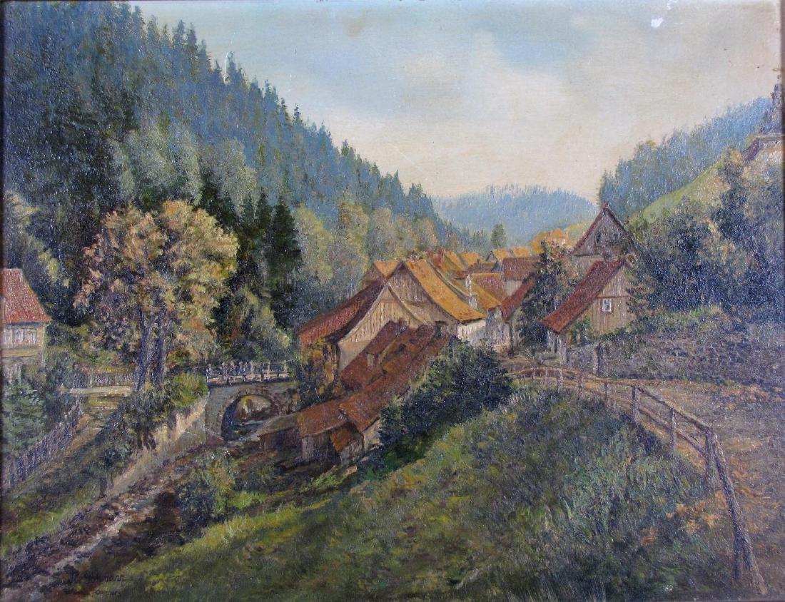"H. Gohmann 14x18 O/B ""Altenau-Oberhaus"""