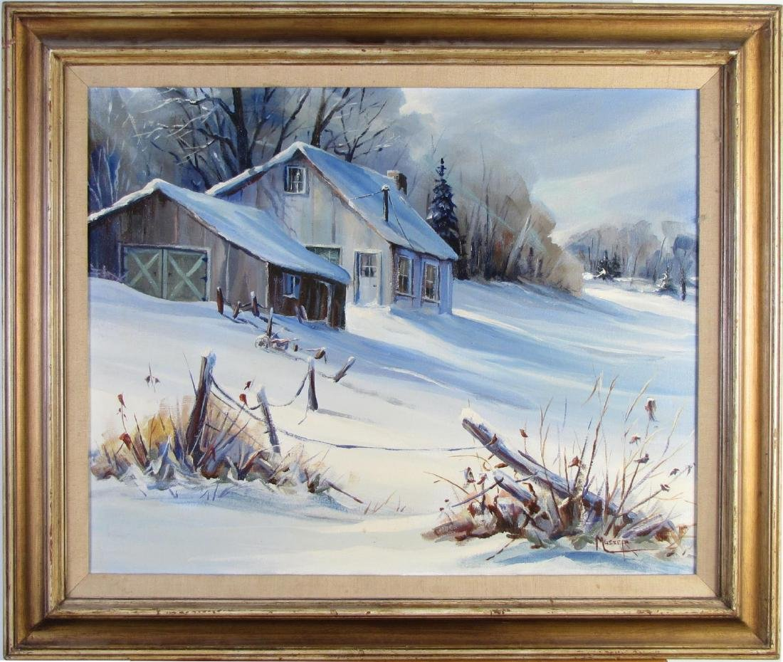 Robert Musser 24x30 O/C Winter Cabin - 2