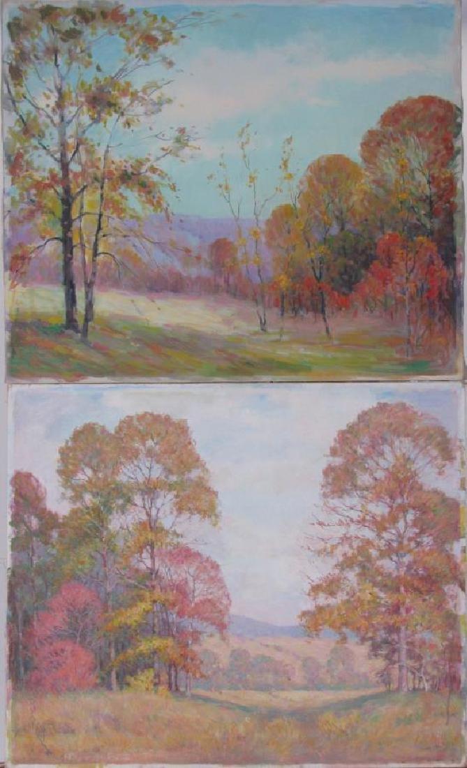 Attrib Alton Coffey (2) 20x24 O/C Landscapes