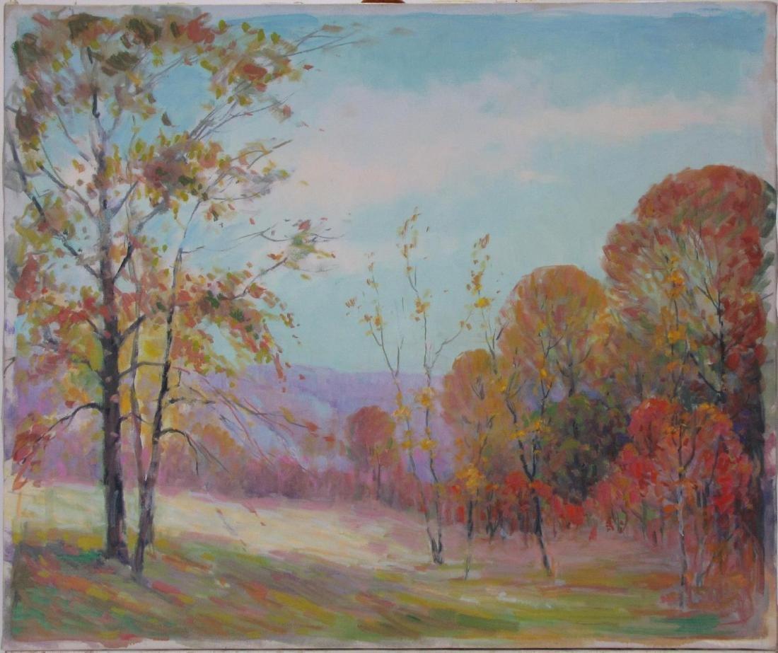 Attrib Alton Coffey (2) 20x24 O/C Landscapes - 2