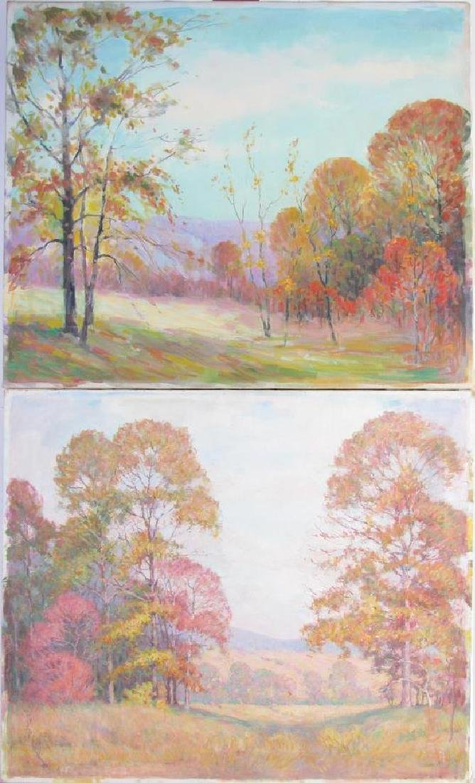 Attrib Alton Coffey (2) 20x24 O/C Landscapes - 4