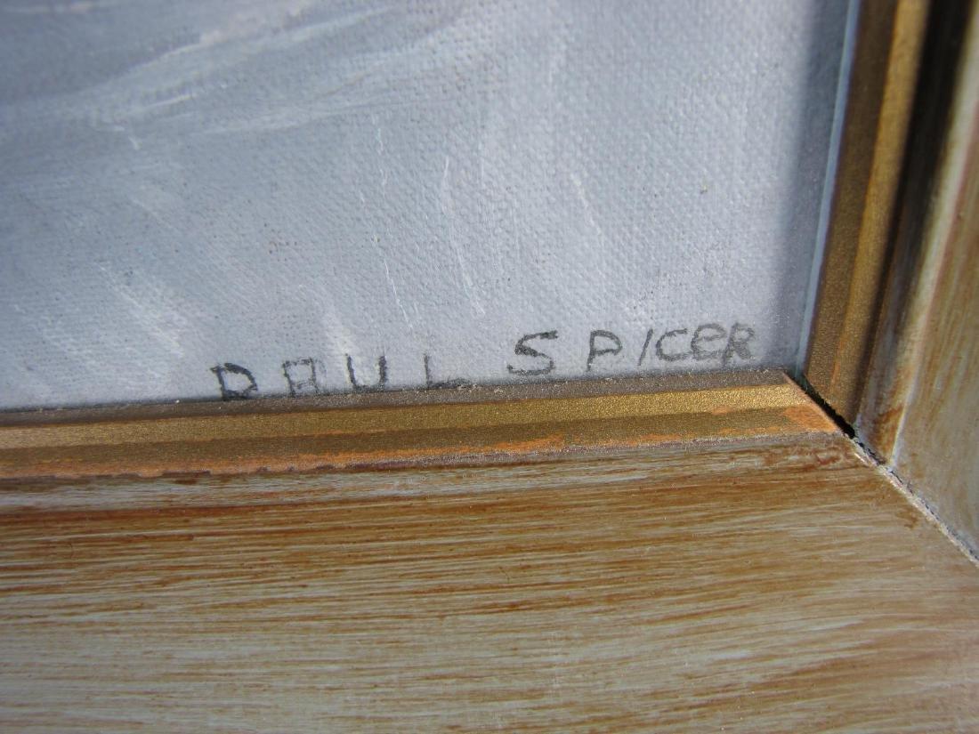 Paul Spicer 16x12 Gouache Still Life, Flowers, Vas - 3