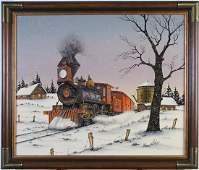C Carson 20 x 24 Oil on Canvas