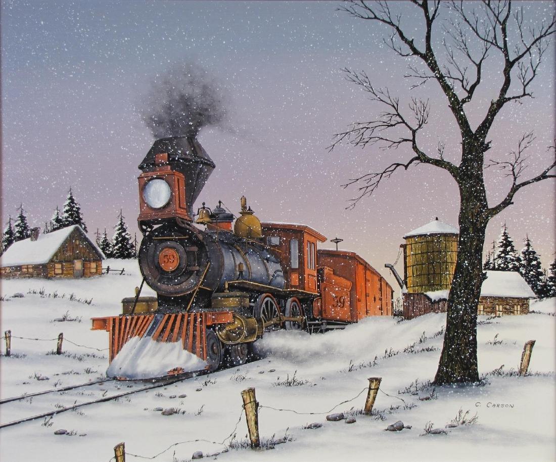 C. Carson 20 x 24 Oil on Canvas - 2