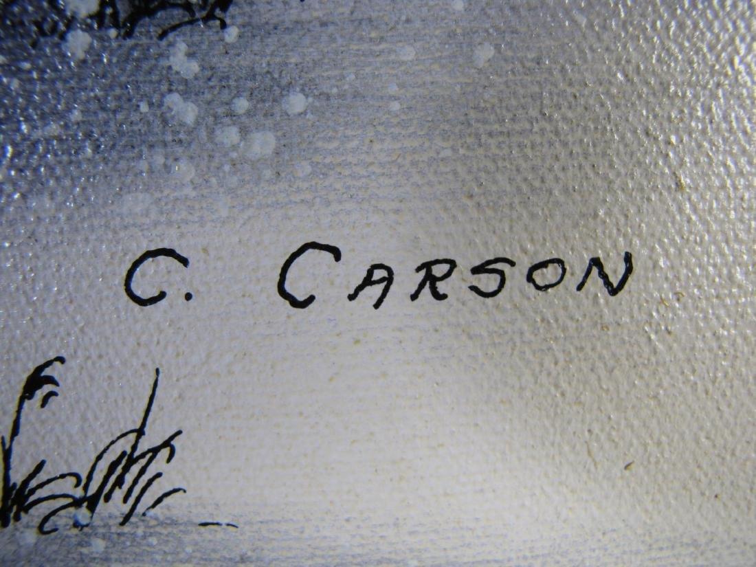 C. Carson 20 x 24 Oil on Canvas - 5