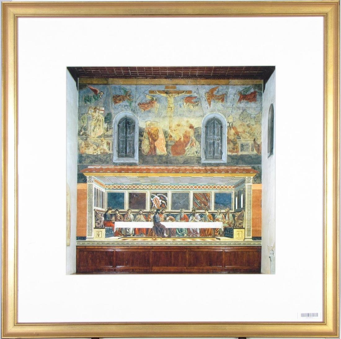 Framed Print of Last Supper