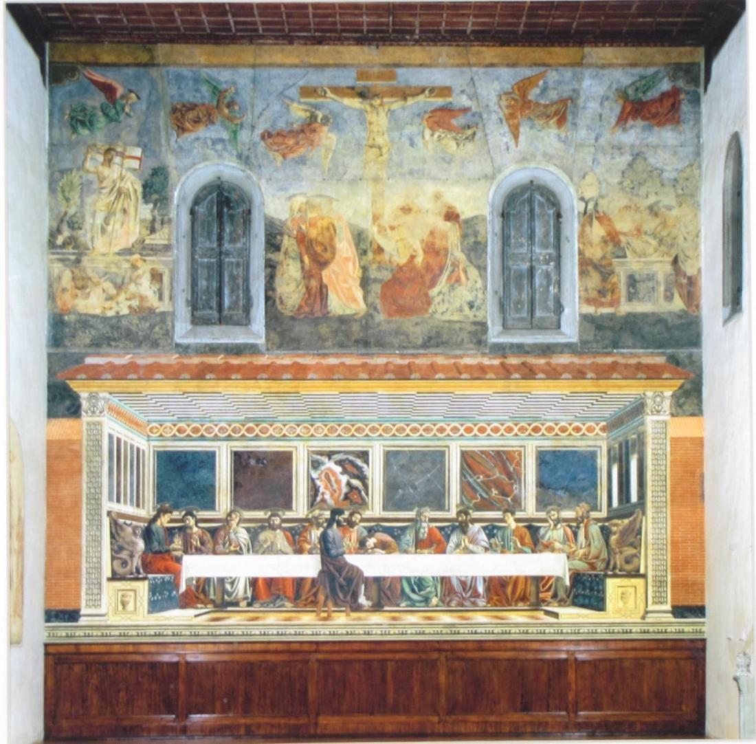 Framed Print of Last Supper - 2