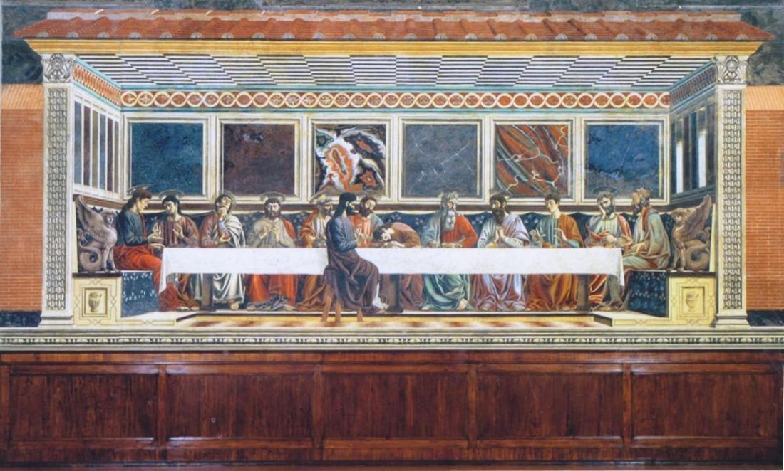 Framed Print of Last Supper - 3