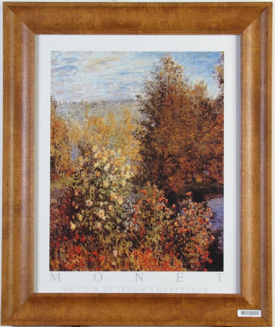 Monet Exhibition Poster