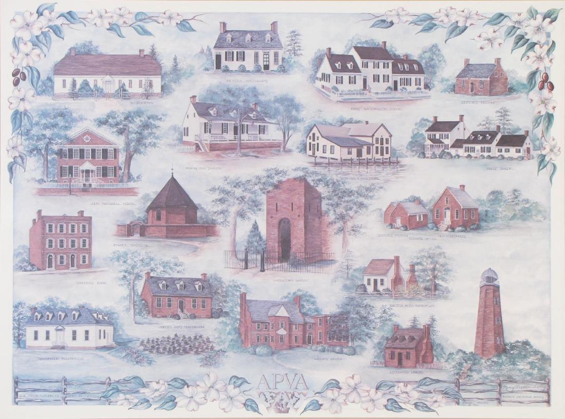 Marcy Deveikis Avery Virginia Landmarks Prints