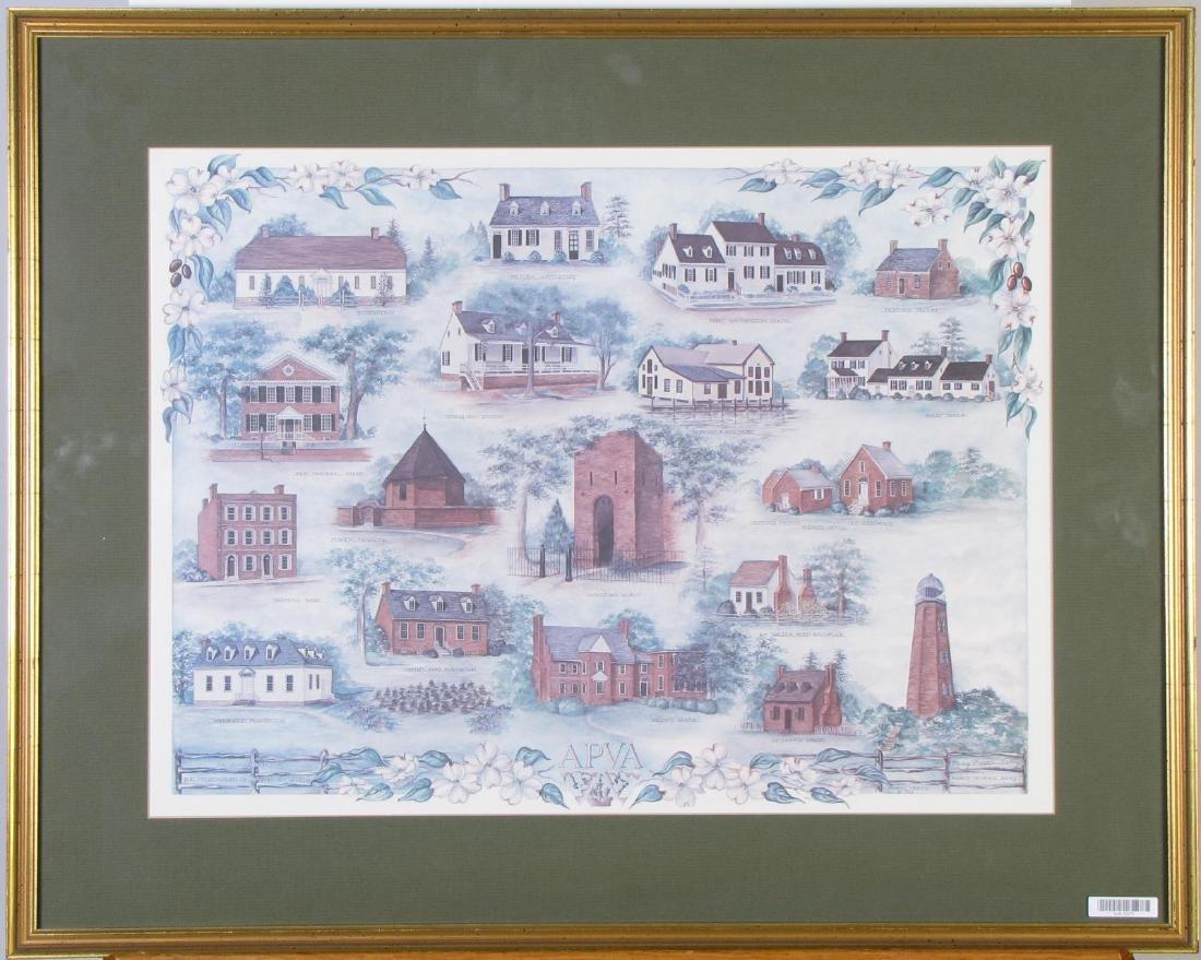 Marcy Deveikis Avery Virginia Landmarks Prints - 2