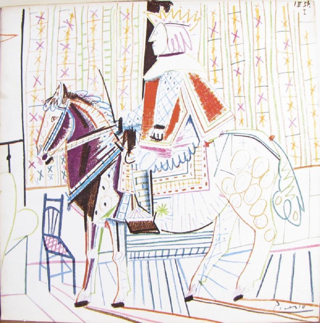 Three Picasso 33LP Album Covers - 4