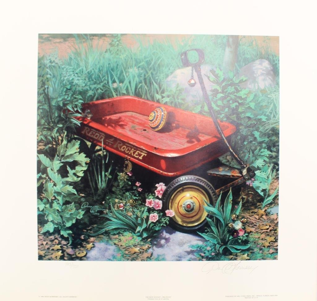 Three Dean Morrissey Limited Edition Prints