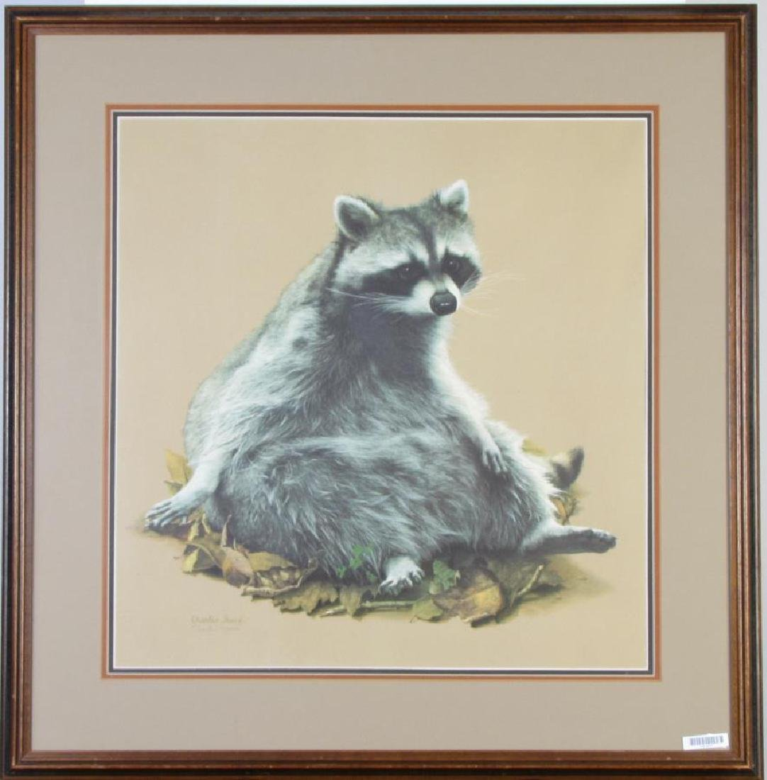 Charles Frace' Raccoon Print - 2