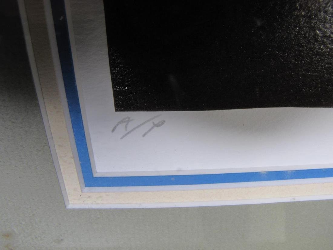 """Louis Robichaud """"Lingerie"""" Color Serigraph - 5"""