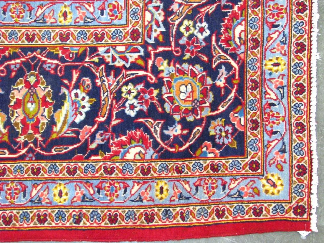 Handmade Kashan 9' x 13' Rug - 2