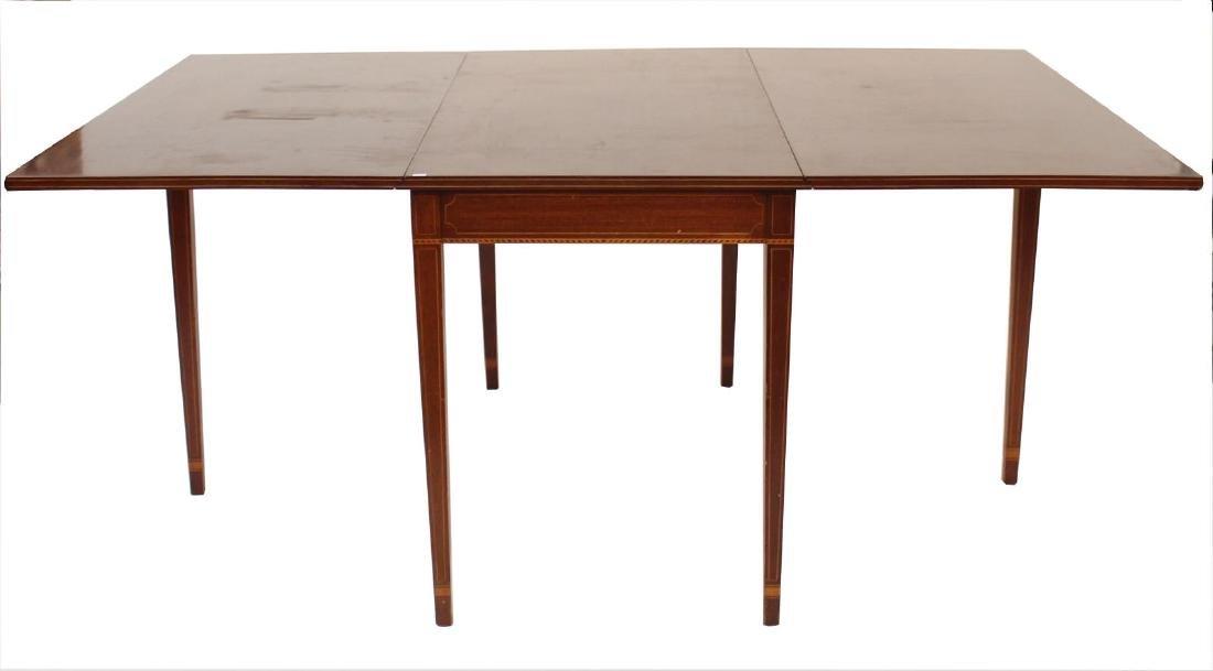 Biggs Furniture Vintage Drop-Leaf Dining Table - 2