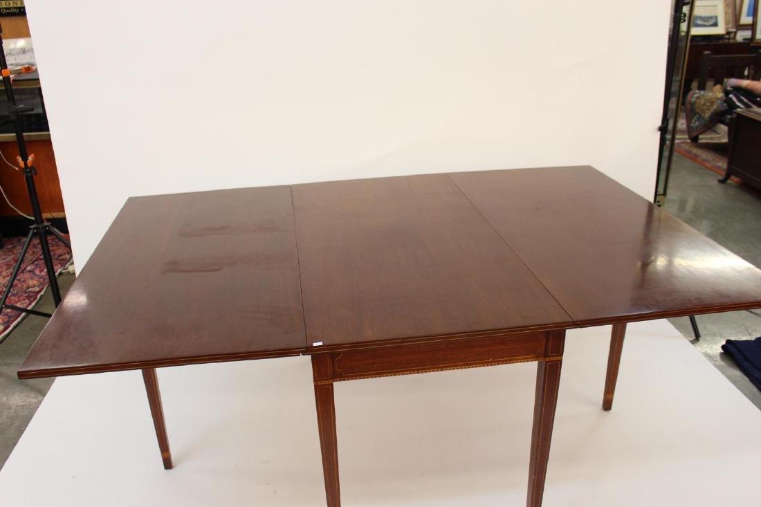 Biggs Furniture Vintage Drop-Leaf Dining Table - 3
