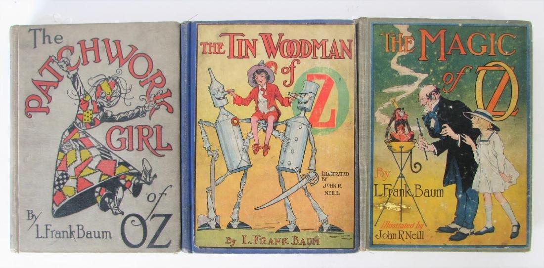 Three L. Frank Baum Hardcover 'Oz' Books - 3