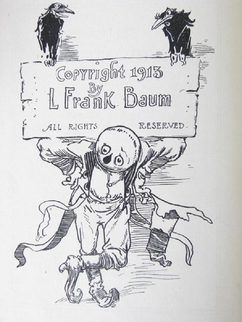 Three L. Frank Baum Hardcover 'Oz' Books - 4