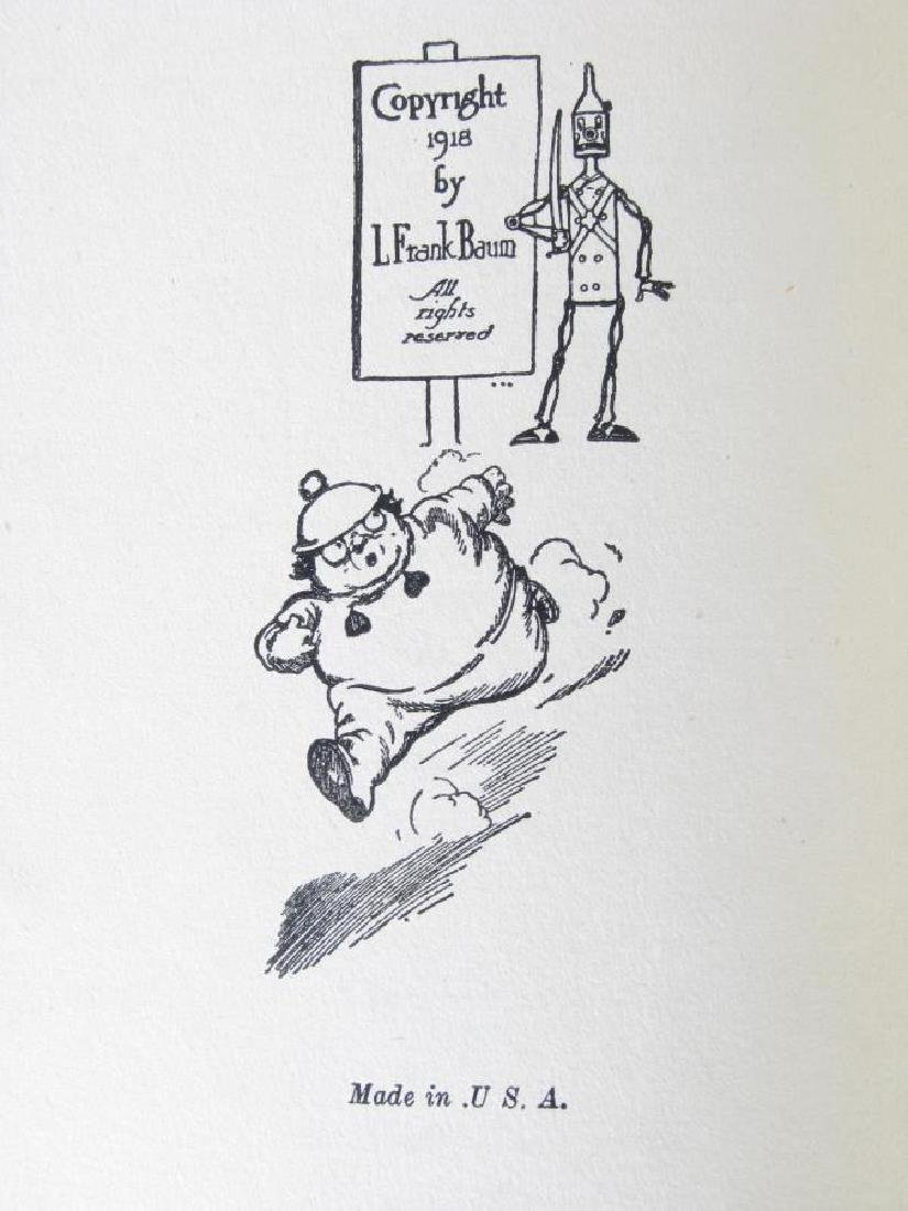 Three L. Frank Baum Hardcover 'Oz' Books - 5