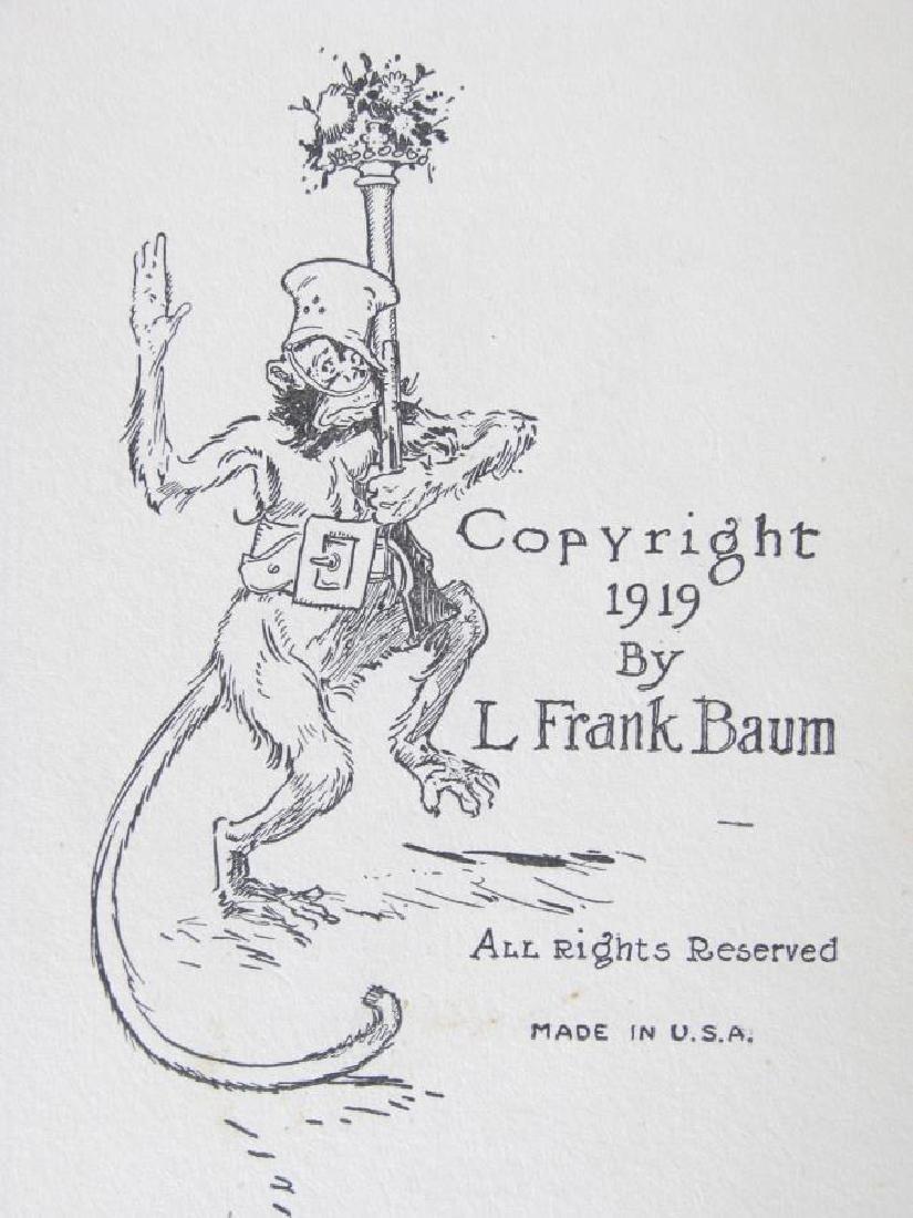 Three L. Frank Baum Hardcover 'Oz' Books - 6