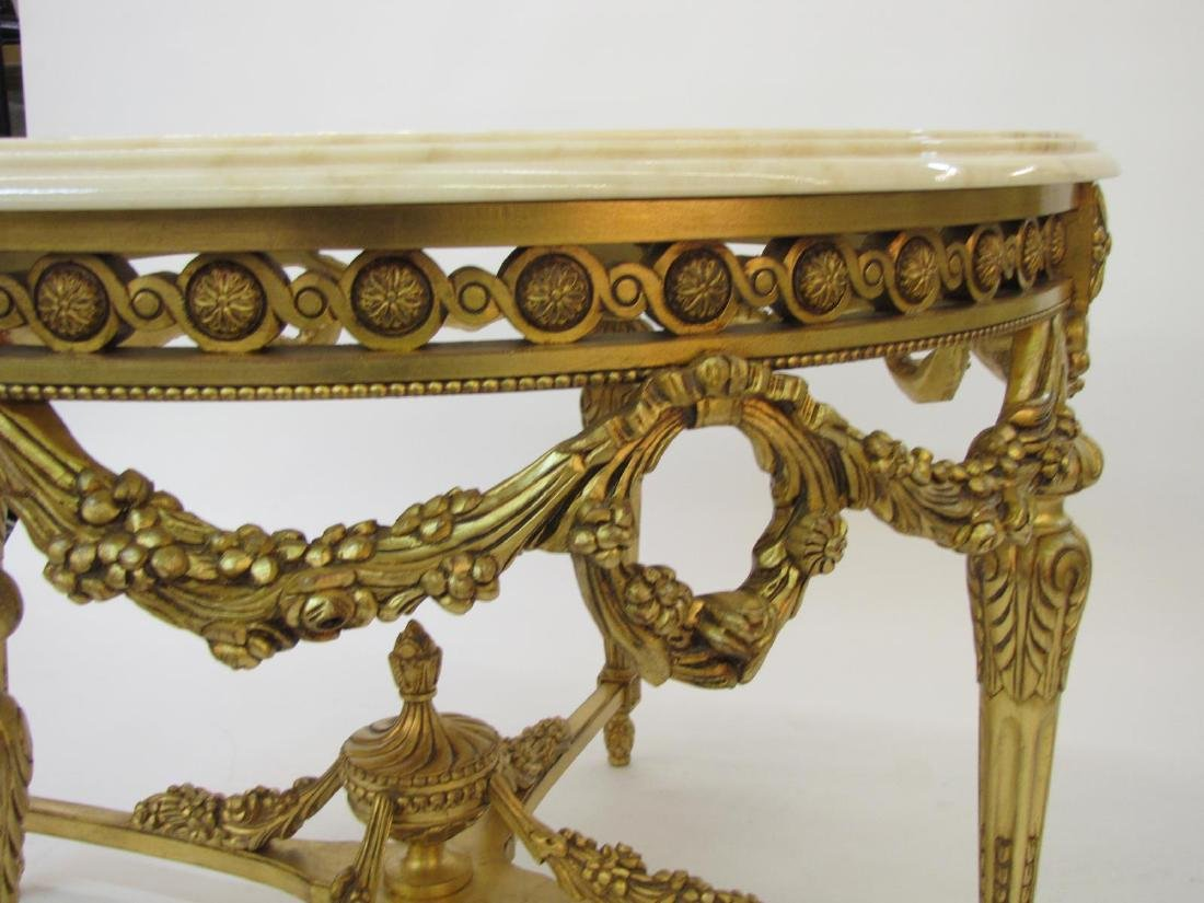 Decorative Crafts 1619 Mariano Foyer Table - 3