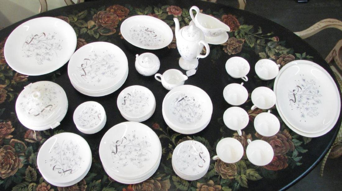 Wedgwood 'Wild Oats' Bone China Service for Eight - 2