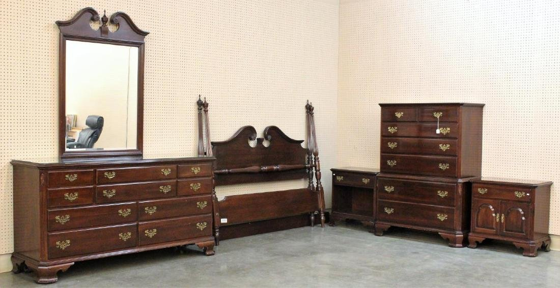 Ethan Allen Cherry Bedroom Suite