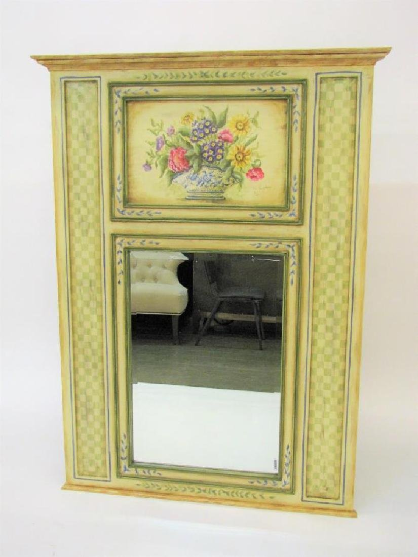 Painted Decorator Wall Mirror