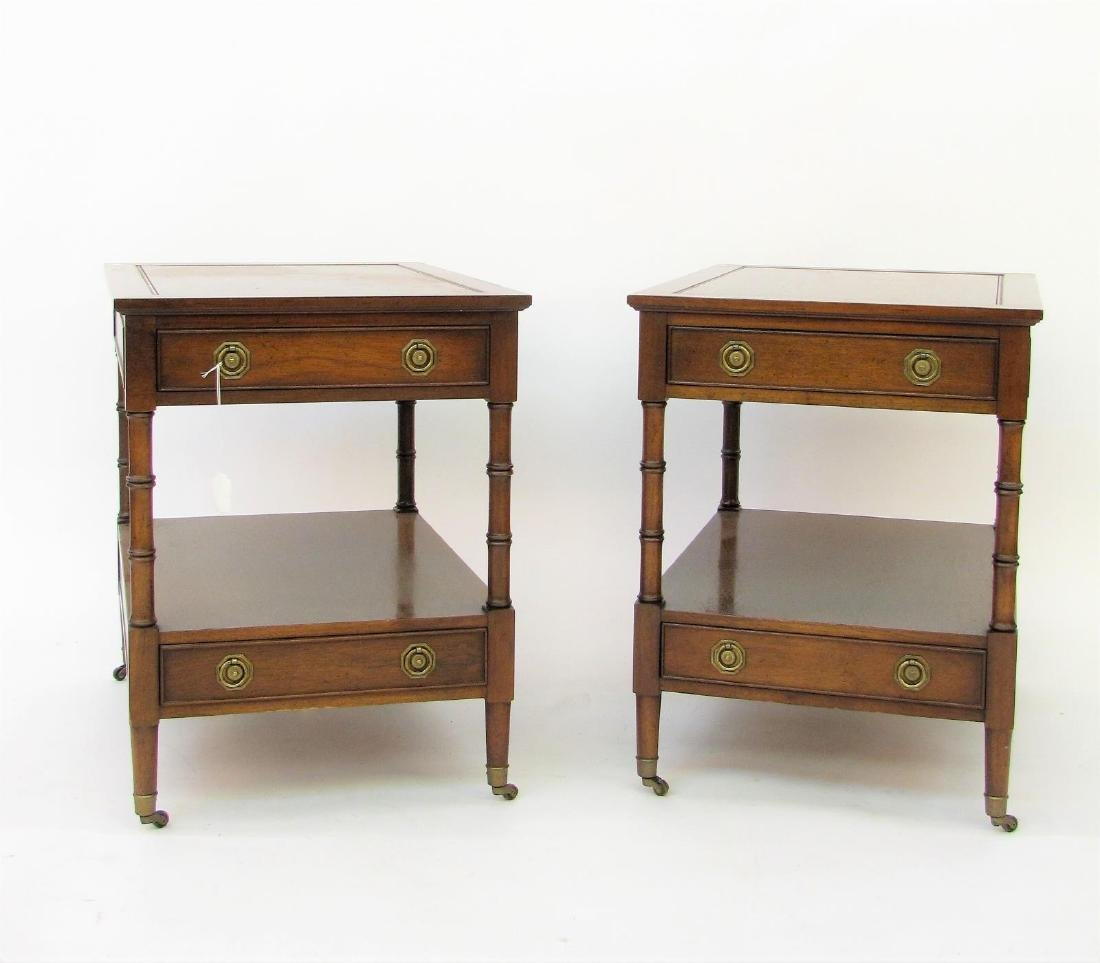 Hekman Pair of Two-Drawer Nightstands