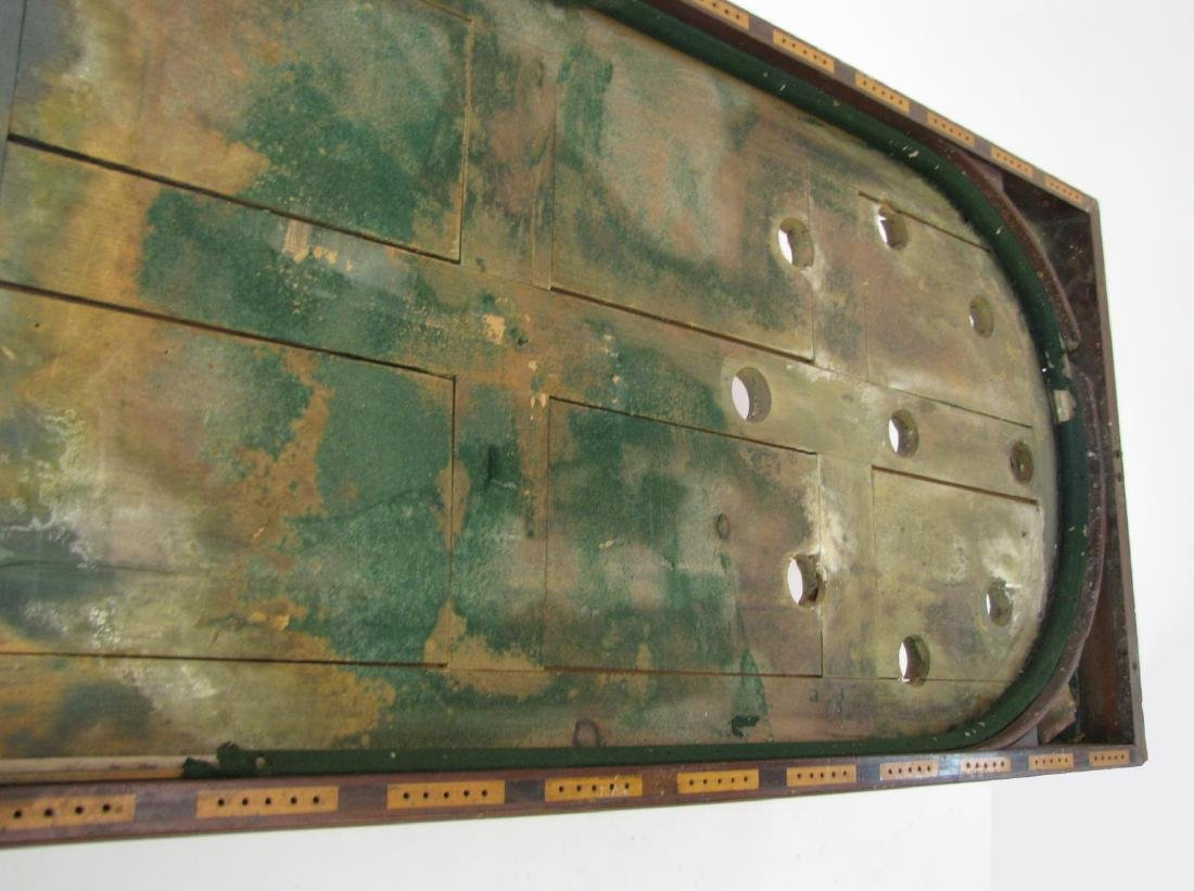 Antique Skee Ball Game Table - 7