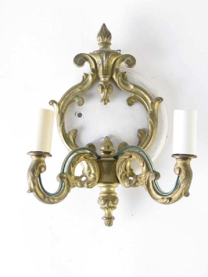 Two Pair of Electric Wall Candle Sconces - 2