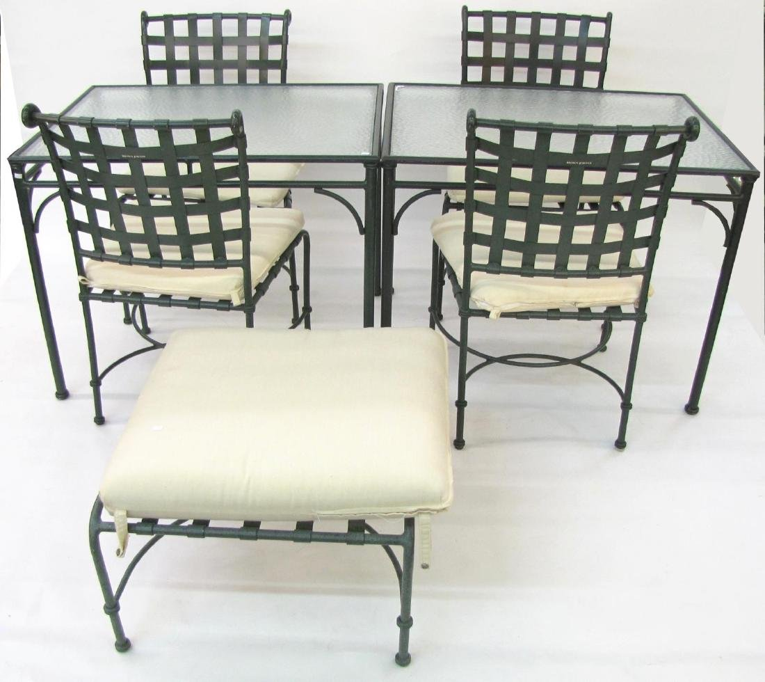 Brown Jordan Cast Metal Patio Furniture
