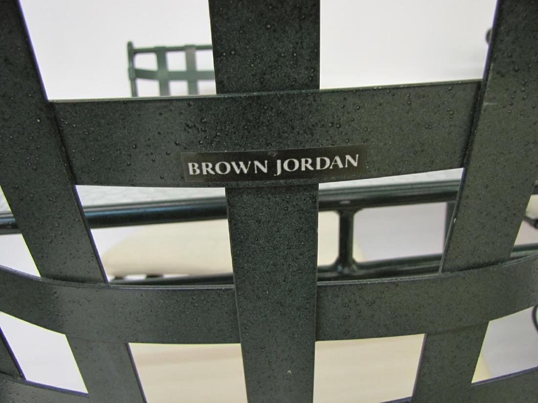 Brown Jordan Cast Metal Patio Furniture - 3