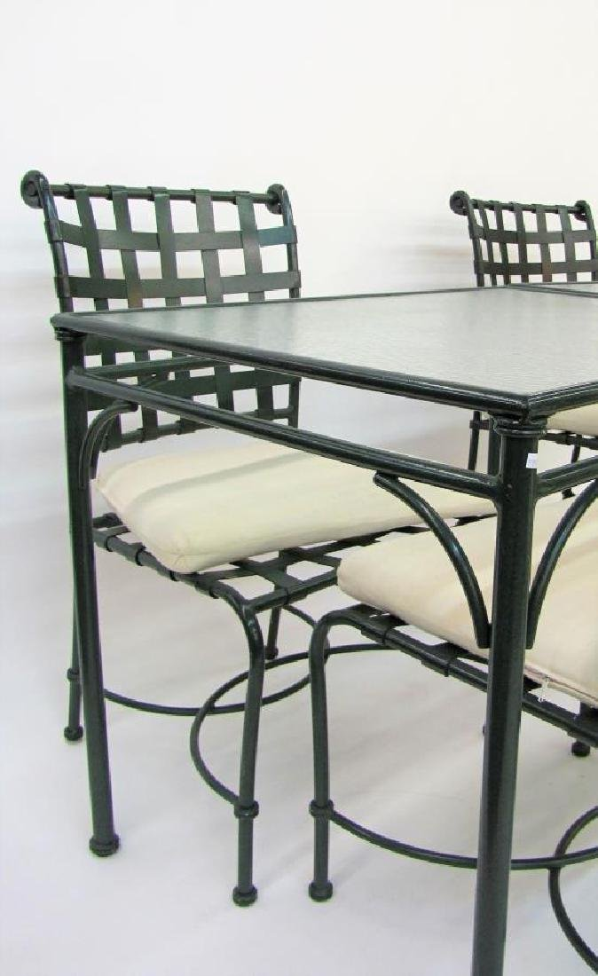 Brown Jordan Cast Metal Patio Furniture - 4