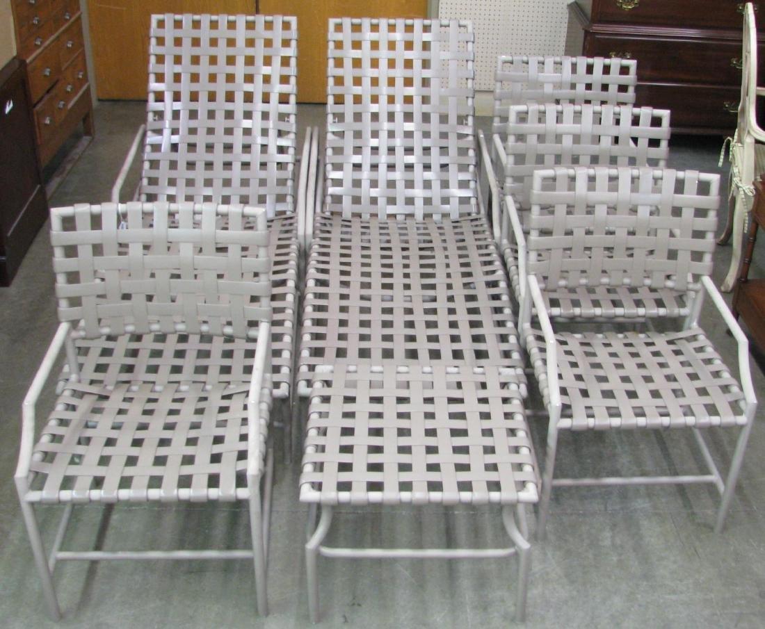 Seven Piece Set of Outdoor Patio Furniture