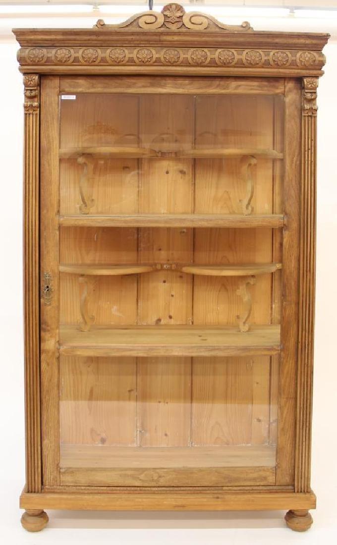 Antique Style Curio/Display Cabinet