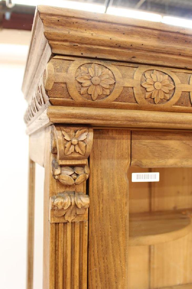Antique Style Curio/Display Cabinet - 2