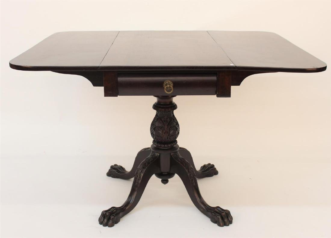 Antique Empire Dropleaf Table - 2