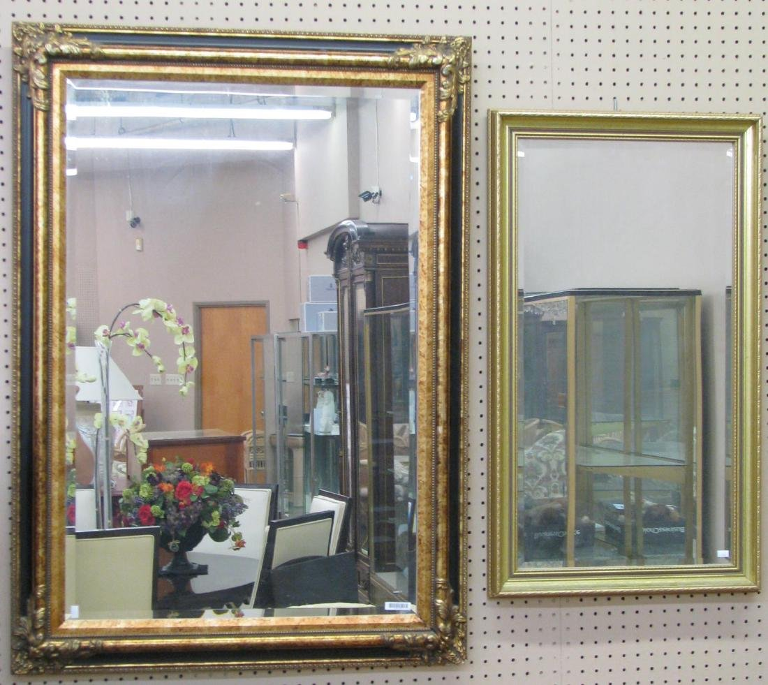 Two Decorative Wall Mirrors